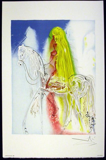 Salvador Dalí, 'Lady Godiva', 1983, Print, Lithograph on vélin d'Arches paper, Samhart Gallery