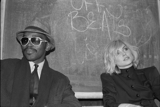 , 'Fab 5 Freddy and Debbie Harry, TV Party,' 1980, Wallplay