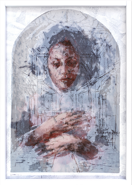 Borondo, 'Eva', 2017, PRINTS AND PIECES