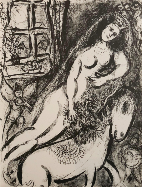 Marc Chagall, 'Le Cirque M. 525', 1967, Print, Original Lithograph on Velin d'Arches Wove Paper, Galerie d'Orsay