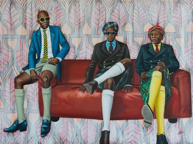 , 'Bana Ya Kitendi (Sons of Cloth) ,' 2016, EBONY/CURATED