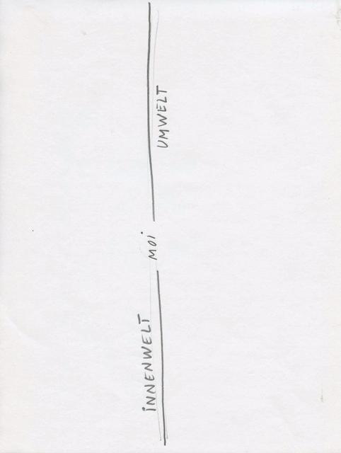 , 'Étude pour Mad Marginal Charts (4),' 2017, Michel Rein Paris/Brussels
