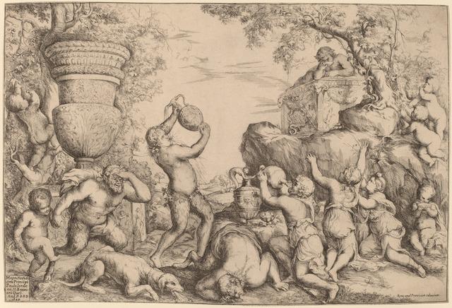 Giovanni Andrea Podesta, 'Bacchanal', 1640, National Gallery of Art, Washington, D.C.
