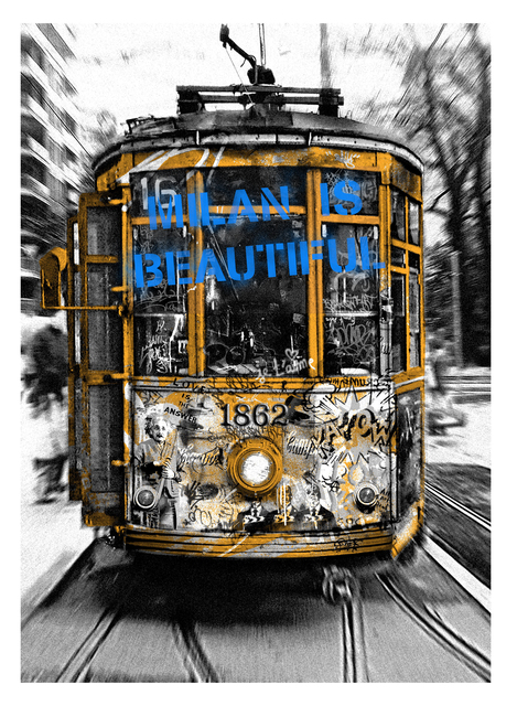 , 'Milan is Beautiful - Tram Blue,' 2019, Deodato Arte