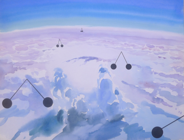 , 'Geometry of a cloud,' 2015, Gallery 21