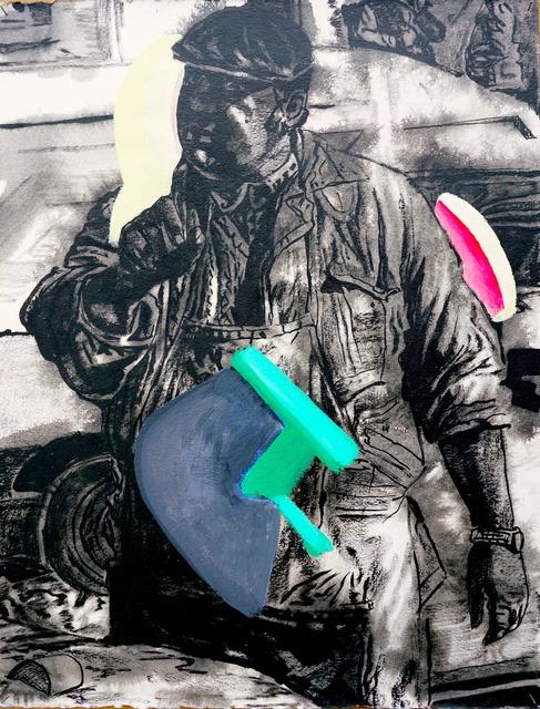 Dumitru Gorzo, 'Rough Edges 1', 2019, Slag Gallery