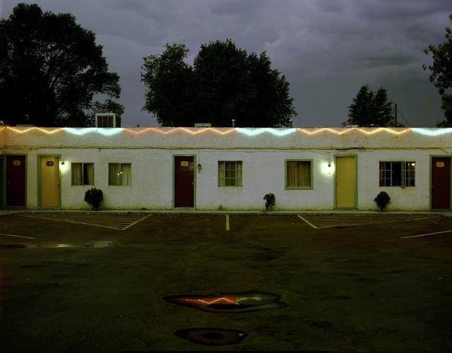 , 'Sandia Motel, Highway 66, Albuquerque, New Mexico,' 1981, Kopeikin Gallery