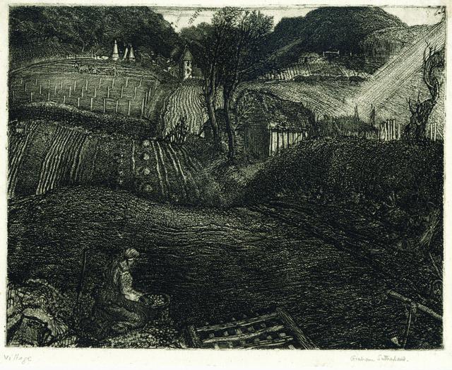 , 'The Village,' 1925, Gerrish Fine Art
