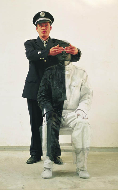 , 'Civilian and Policeman #2,' 2006, Marion Gallery