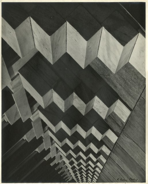 A. Aubrey Bodine, 'Cubist Design', Alan Klotz Gallery