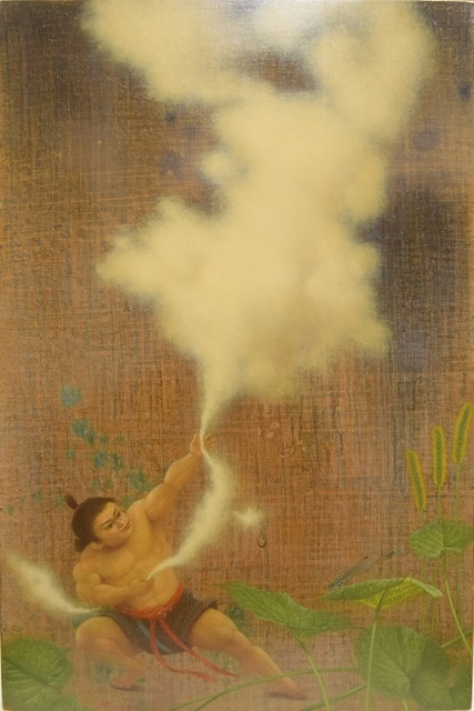 , 'Catching a cloud,' 2017, Gallery Seizan
