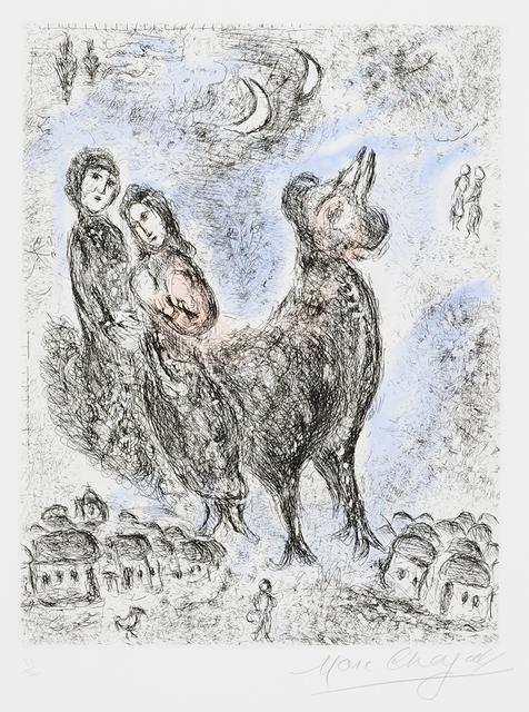 Marc Chagall, 'La Paix du soir (Evening Peace) from Songes', 1981, Masterworks Fine Art
