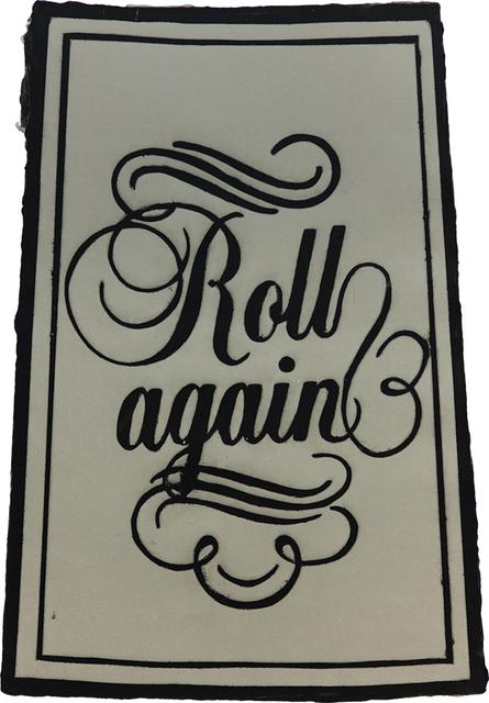 , 'Roll Again,' 2010, Dieu Donné