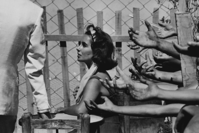 Elizabeth Taylor with Hands; Suddenly Last Summer