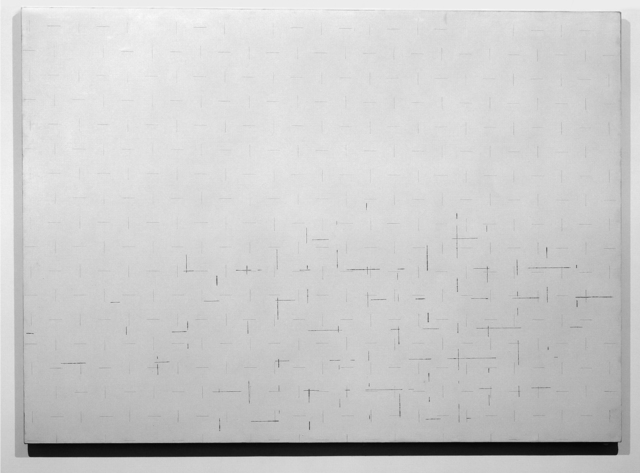 Marco Gastini, 'Untitled', 1974, Painting, Acrylics, conté and pastel on canvas, Giorgio Persano