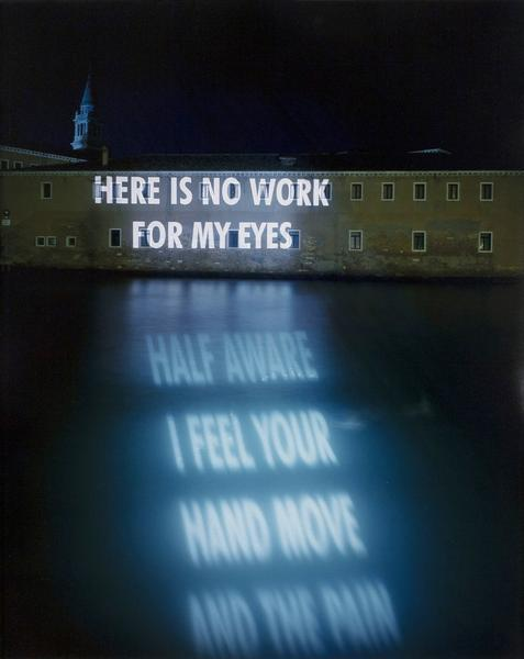 , 'No Work For My Eyes,' 1999, Caviar20