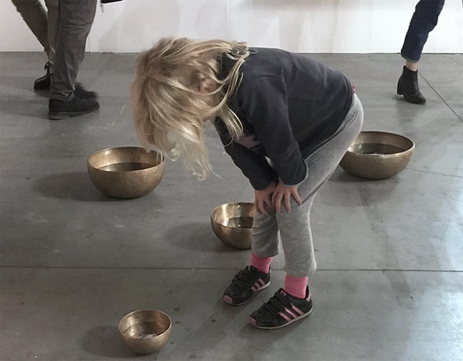 Moon Bowl Installation
