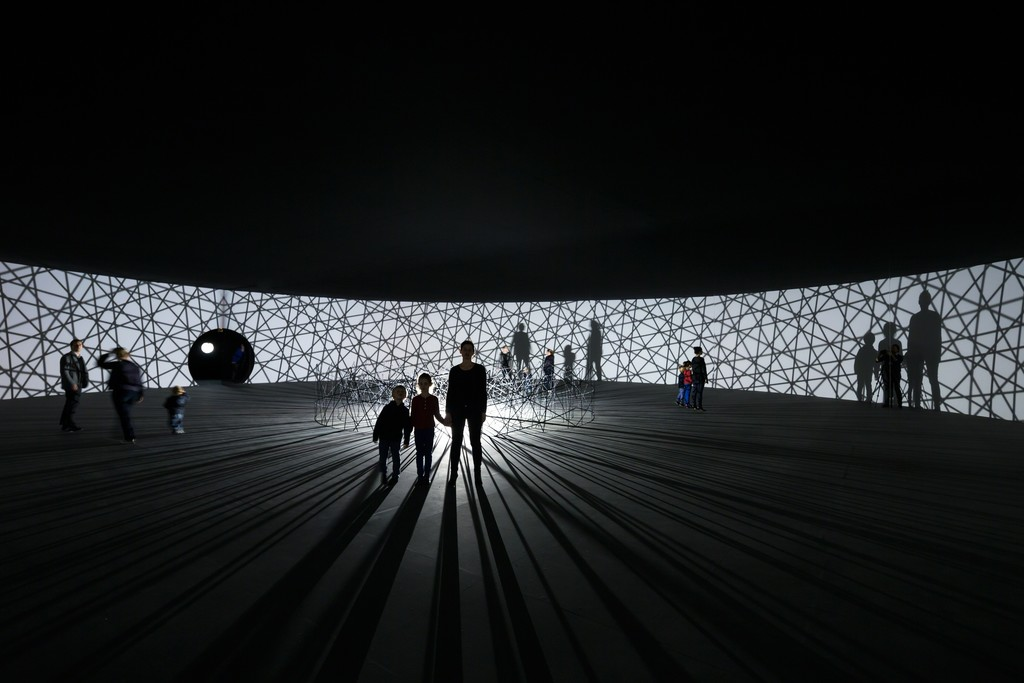 Olafur Eliasson, Map For Unthought Thoughts (2014) at Fondation Louis Vuitton, Paris