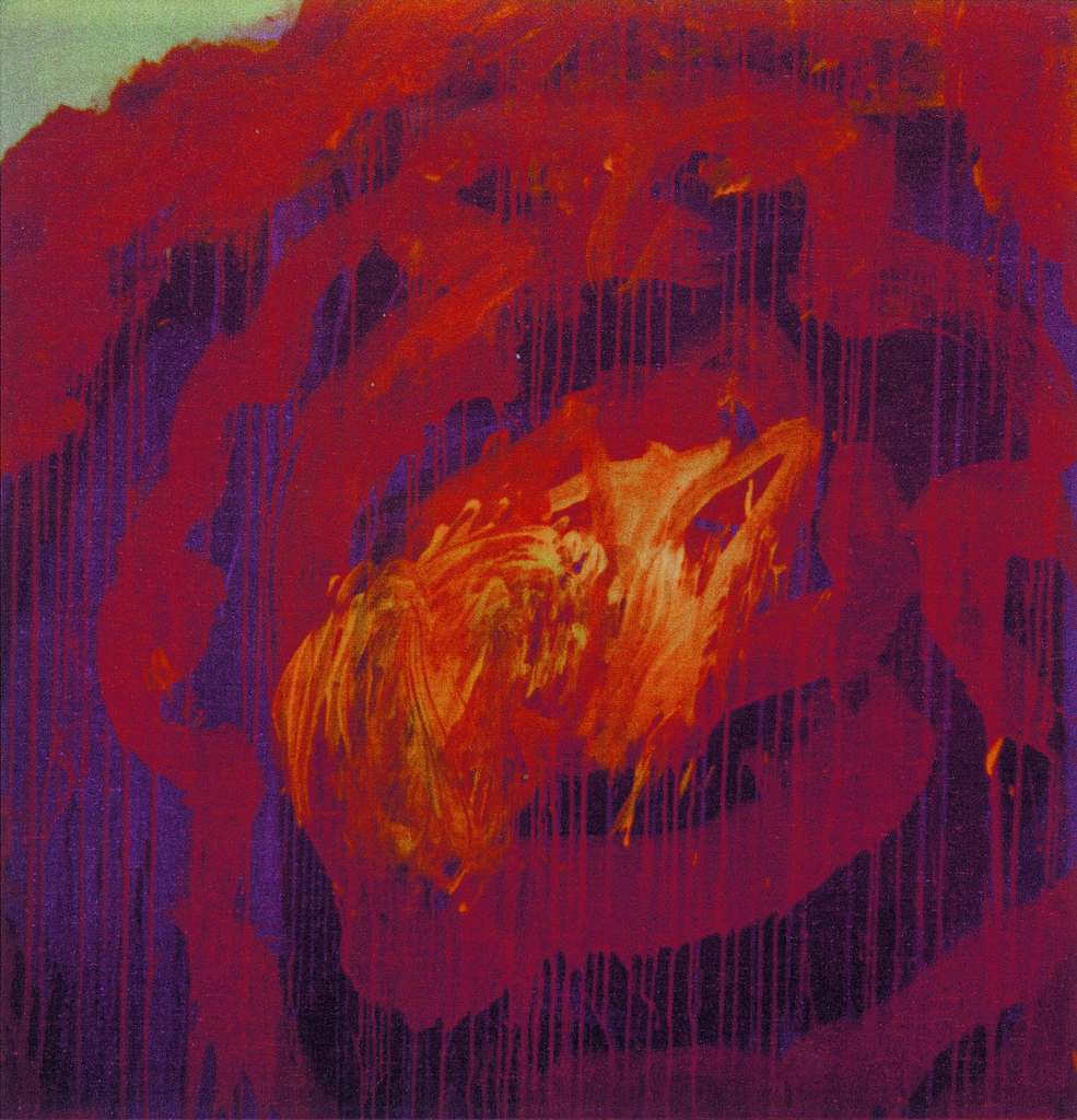 """Cy Twombly, """"Painting (Roses)"""", 2008"""