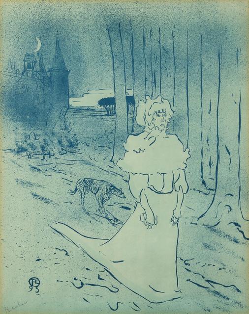 Henri de Toulouse-Lautrec, 'La Châtelaine', 1895, Hindman