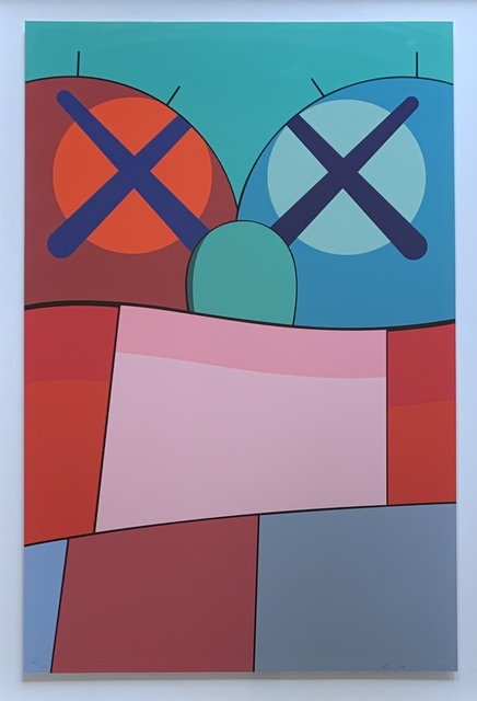KAWS, 'Untitled (Print no. 8) from No Reply', 2015, Kwiat Art