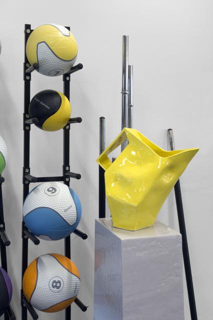 , 'Yellow Jug,' 2012, Murray White Room