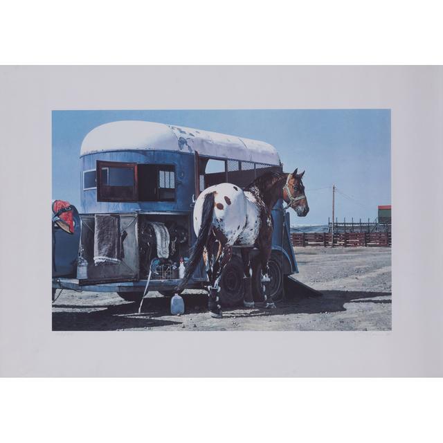 Richard McLean, 'Trailer and horse', circa 1980, PIASA