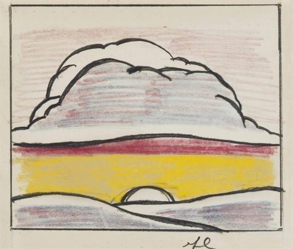 Roy Lichtenstein, 'Landscape with Setting Sun', Christie's