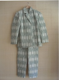 "Gelt Suit (After Joseph Beuys's ""Felt Suit,"")"