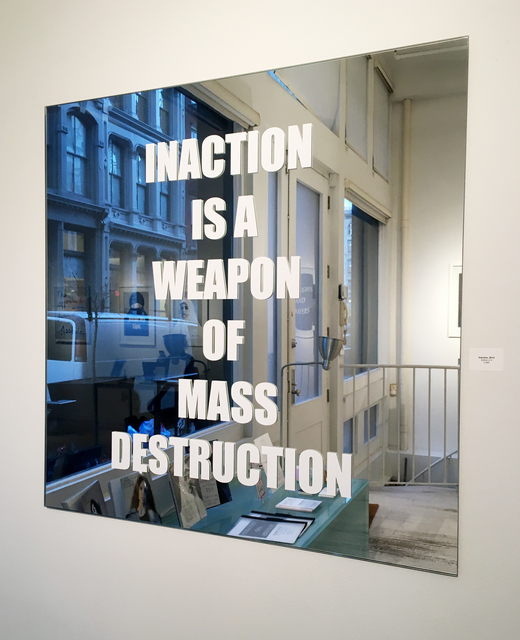 , 'Inaction,' 2012, The Untitled Space
