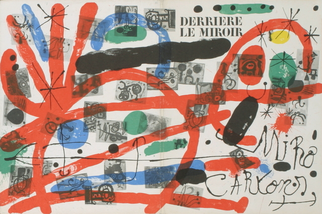 Joan Miró, 'Derriere Le Miroir, no. 151-152 Cover', 1965, ArtWise