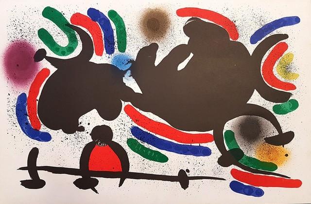 Joan Miró, 'Mirò Lithographe I - Plate IV', 1972, Wallector