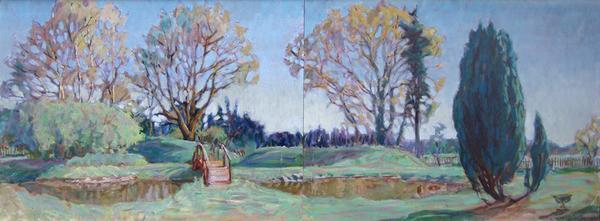 , 'Suffolk Spring #1(diptych),' , Bau-Xi Gallery