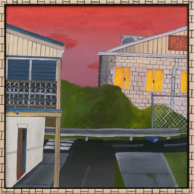 Nick Santoro, 'A Quiet Street Scape Inspired By The Ryan's Hotel ', 2019, The Egg & Dart