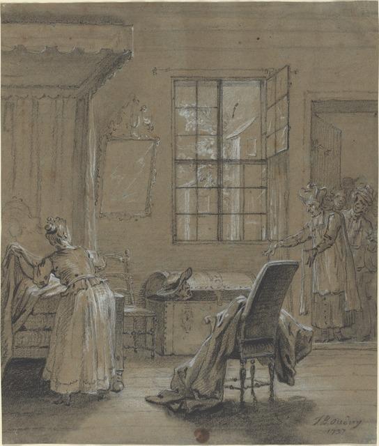 Jean-Baptiste Oudry, 'Ragotin dans le coffre', 1737, National Gallery of Art, Washington, D.C.