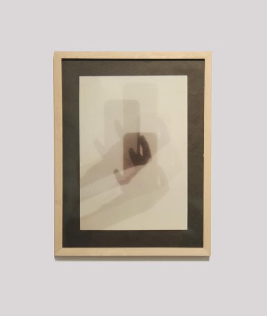 , 'Sombra selfi / Selfie shadow,' 2018, EL GRAN VIDRIO