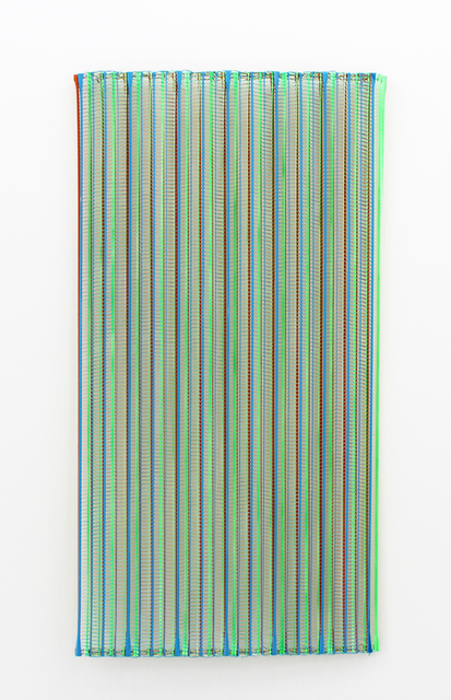 , 'Plaisir, orange, gelb, blau,' 2018, Galerie Heike Strelow