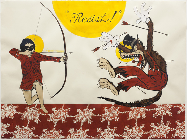 , 'Resist! #2,' 2017, Galleri Magnus Karlsson