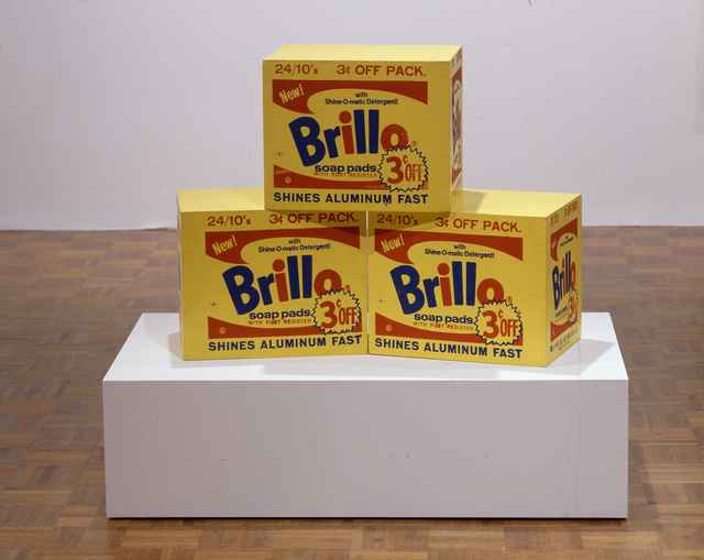 , 'Brillo Box,' ca. 1964, National Gallery of Art, Washington, D.C.