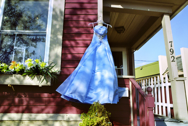 , 'Blue Secondhand Prom Dress, South Wedge,' 2012, Robert Koch Gallery