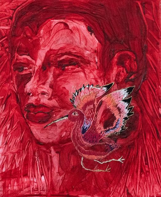 , 'Scarlet Spirit ,' 2018, PUBLIC Gallery