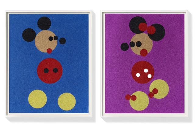 Damien Hirst, 'Mickey + Minnie (large)', 2016, Vernissage Art Advisory