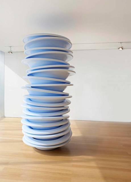 , 'No Title (Stacked Plates),' 2006, The FLAG Art Foundation