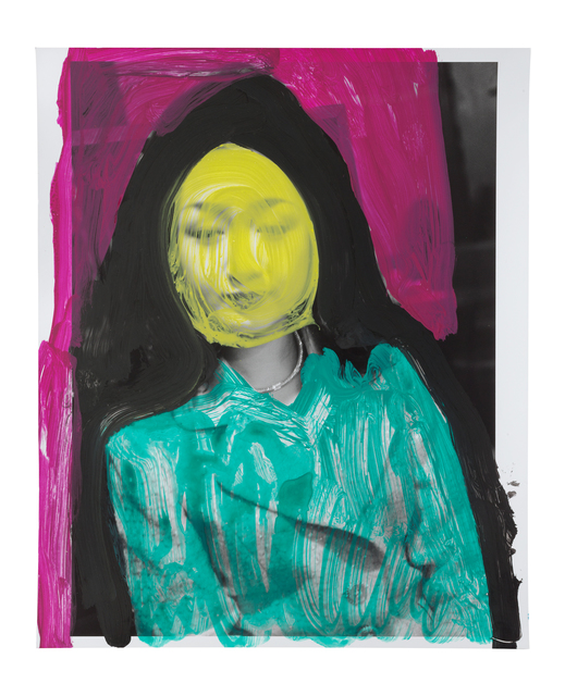 Nobuyoshi Araki, 'Alluring Hell ( unique piece)', 2008, Mixed Media, Handpainted gelatin silver print, Unique piece, Alex Daniels - Reflex Amsterdam