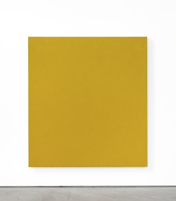 , 'Yellow Endless Painting,' 2018, Brian Gross Fine Art