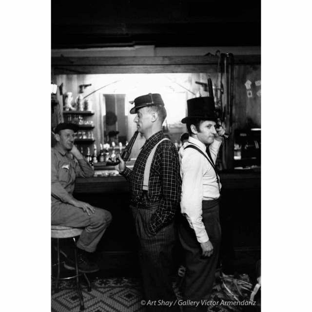, 'Mock Duel Between Nelson Algren and Marcel Marceau, Chicago, 1958,' 2017, Gallery Victor Armendariz