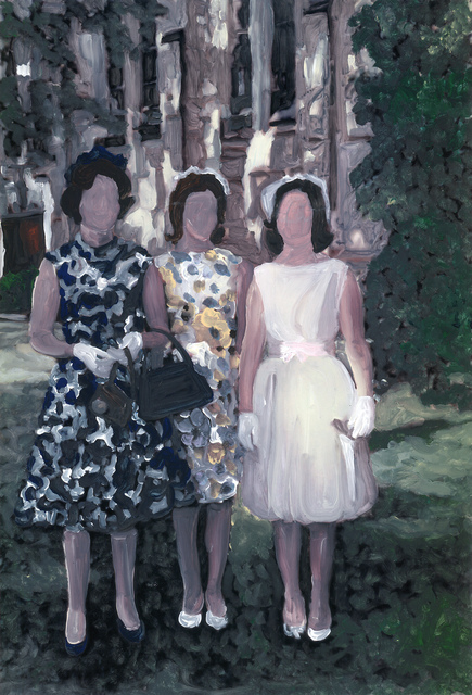, 'mother and daughters,' 2019, Marloe Gallery