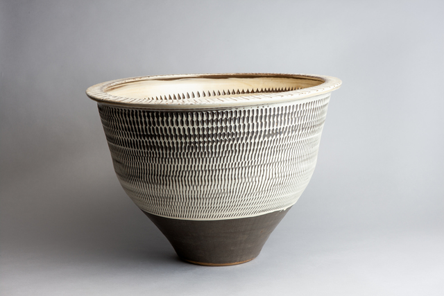 , 'Planter with Tobikanna (Blade Skip) Design,' n/a, Pucker Gallery
