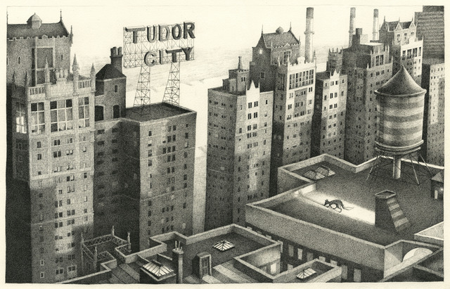 , 'Tudor City, New York,' 2016, The Biscuit Factory