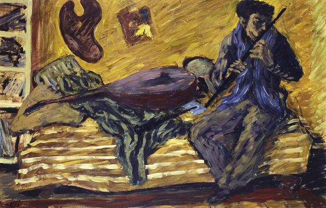 , 'Flute Player,' 1935, Brun Fine Art